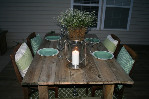 19 how-to-build-a-rustic-outdoor-dining-table-guest-remodel