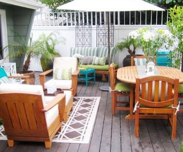 Top Ten Outdoor Patios for Summer and Link Party
