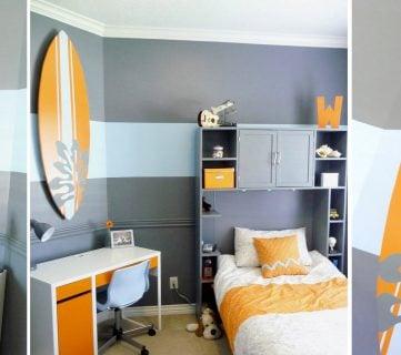 Boys Bedroom Interior Design Makeover!