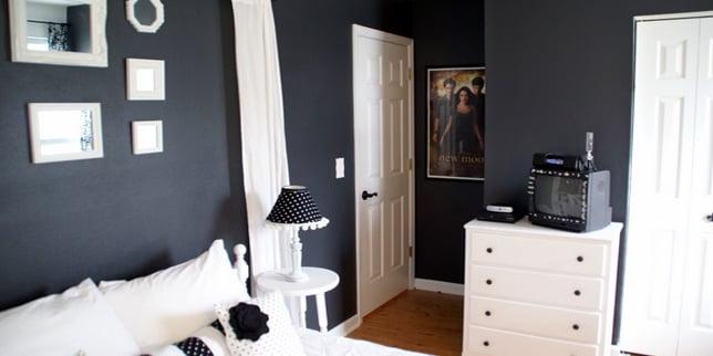 Remodelaholic Teenage Bedroom Remodel Pottery Barn Inspired