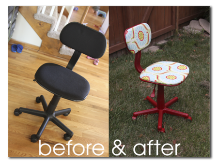 reupholster office chairs. HOw To Reuphoster And Office Chair Before After (1) Reupholster Chairs C
