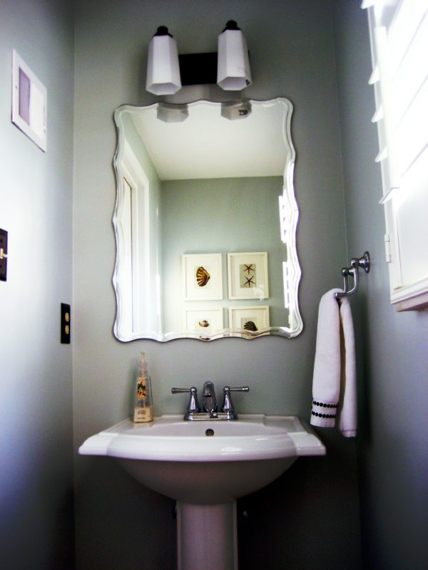 remodelaholic half bath before and after