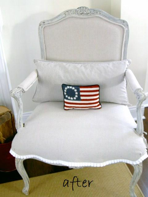 Shabby-chic-armchair-recover-painted-distressed-beutiful-trim (3)