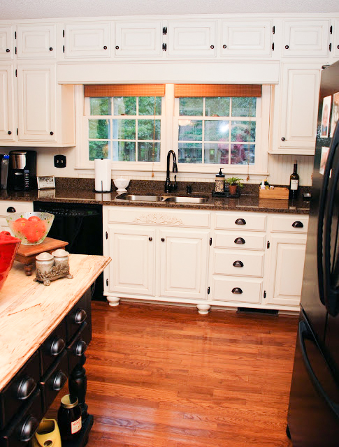 Updated Kitchen Painted Cabinets 2
