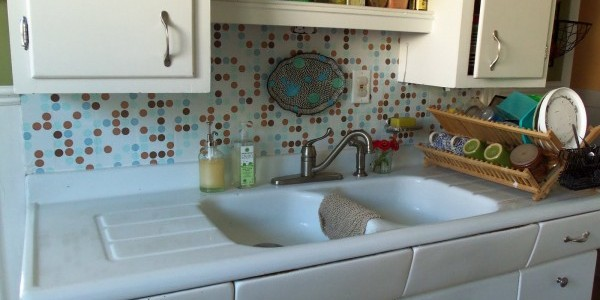 Quick and Painless Backsplash Makeover