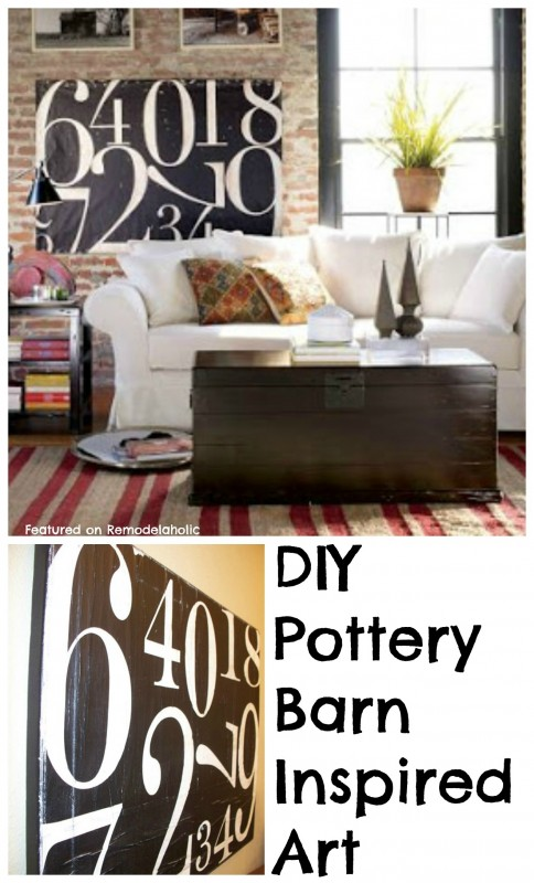 DIY Pottery Barn Art Idea1