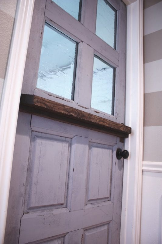 Making A Dutch Door From An Old Door