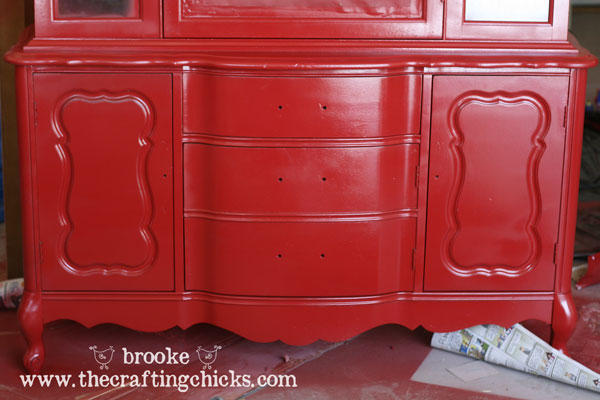 9 Dining Room Hutch Painted2