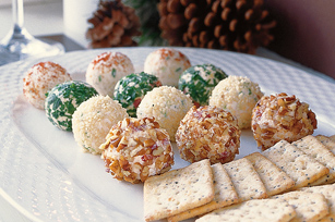individual serving cheese balls