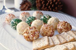 individual serving cheese balls
