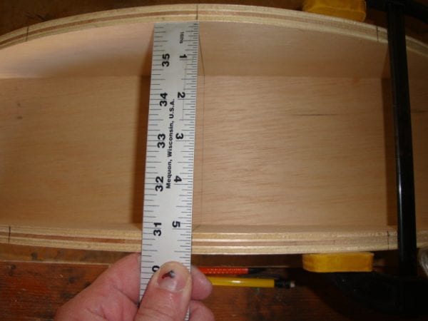 10 Curved Canopy cornice box DIY by DeCarlo Woodworks featured on @Remodelaholic