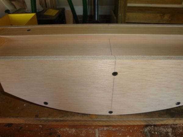 14 Wooden curved canopy cornice box with step by step instructions, by DeCarlo Woodworks featured on @Remodelaholic