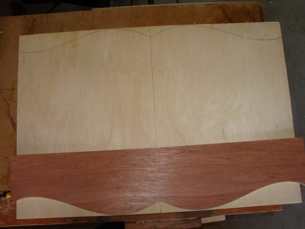 24 Tutorial for wooden canopy cornice box by DeCarlo Woodworks featured on @Remodelaholic