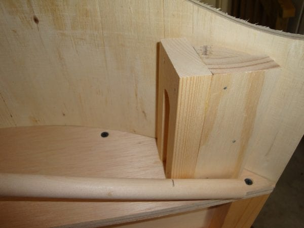 38 Build a wooden curved canopy cornice box with this step-by-step tutorial by DeCarlo Woodworks featured on @Remodelaholic