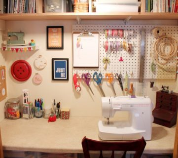Sewing Closet Revamp; Using Every Inch Wisely!