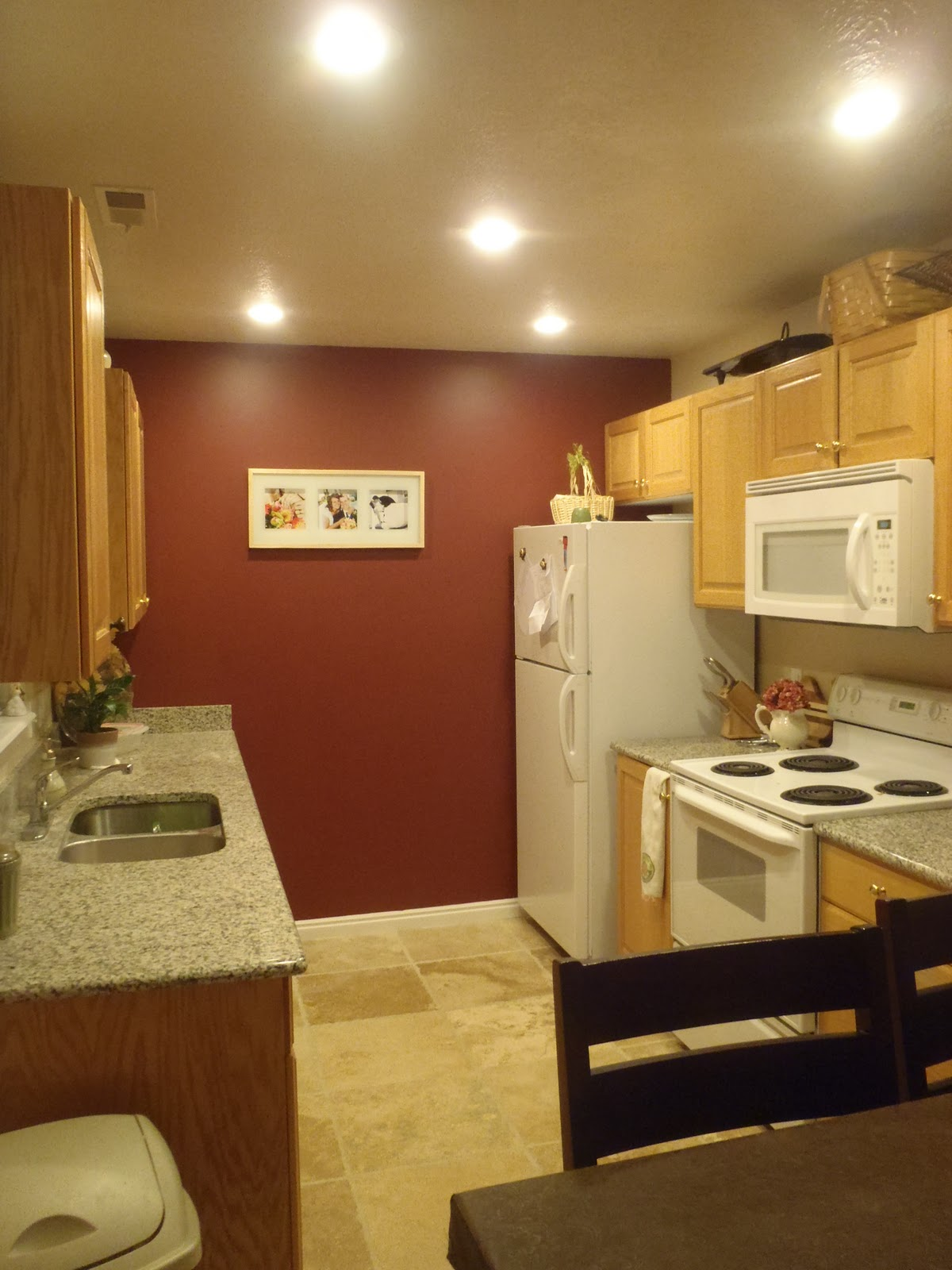 Remodelaholic | Replacing Florescent Kitchen Light With Can Lights