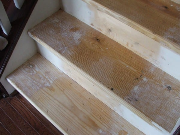 19 How To Paint Wooden Stairs That Used To Be Carpeted, By Cleverly Inspired, Featured On @Remodelaholic