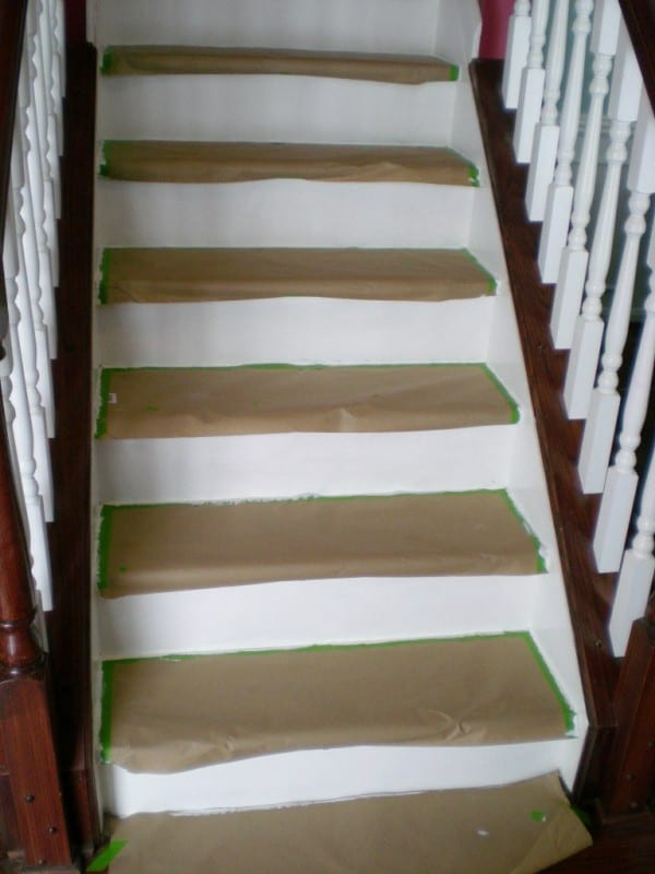 Attirant 22 Cheap Staircase DIY, Carpet To Wood Treads, By Cleverly Inspired,  Featured On
