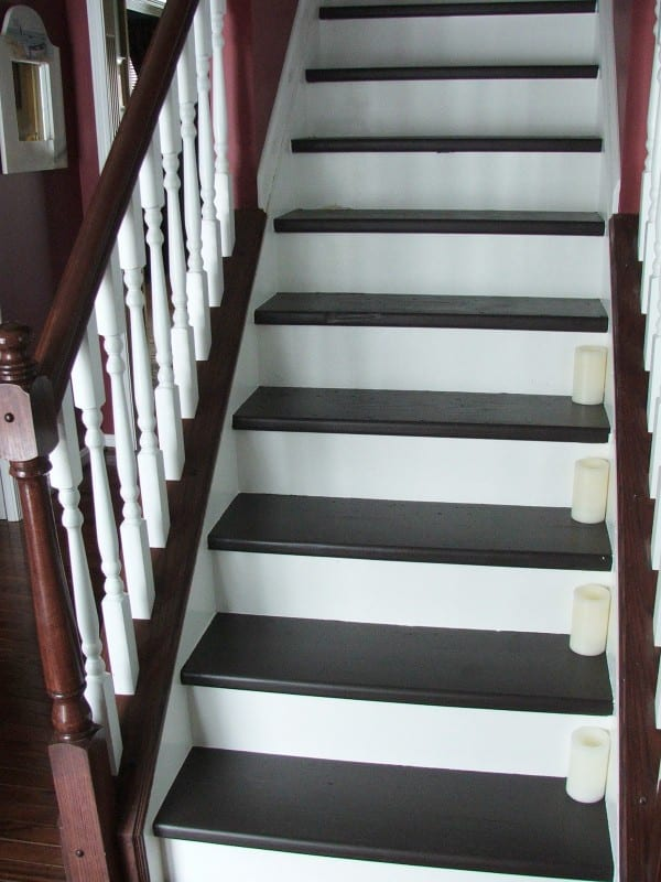 34 Budget DIY Makeover, Carpeted Stairs To Wooden Treads, By Cleverly  Inspired, Featured