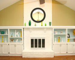 fireplace refinish