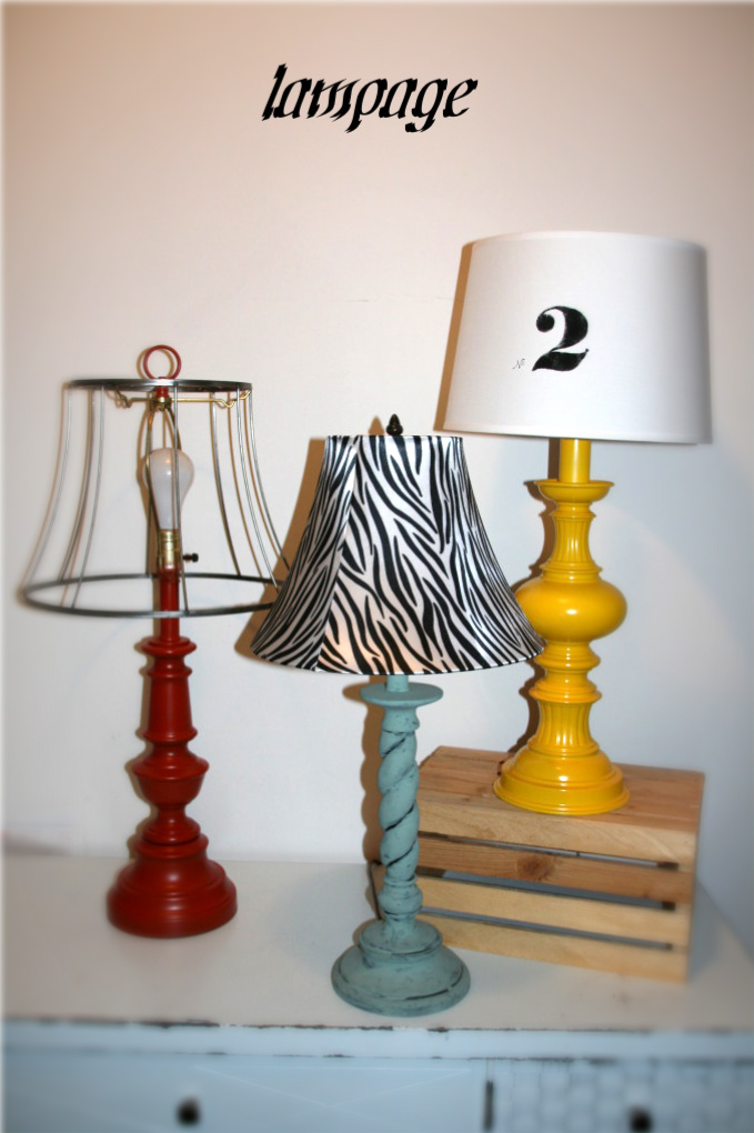 revamping your lamps and lampshade ideas
