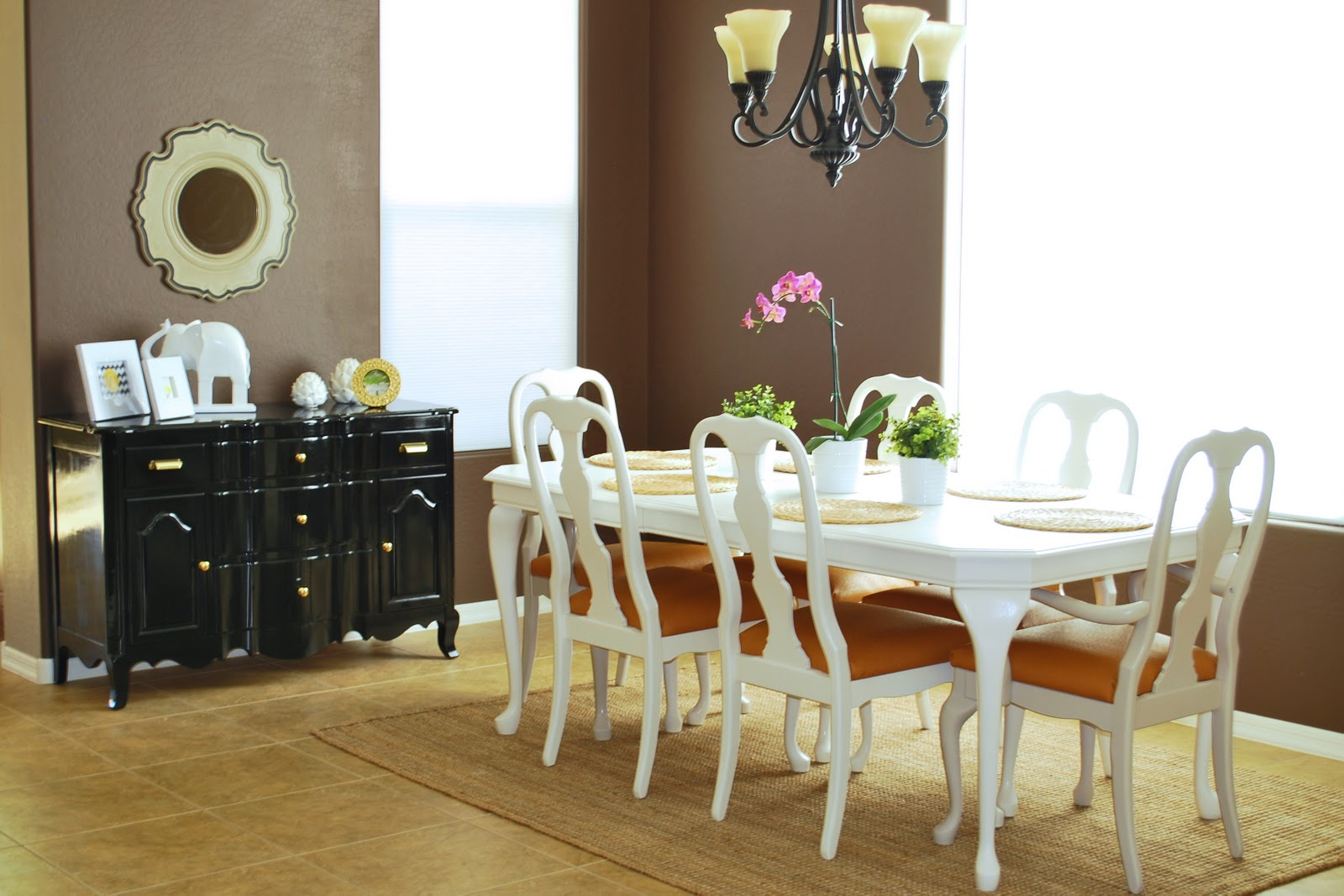 Remodelaholic kitchen tables for How to redo dining room chairs