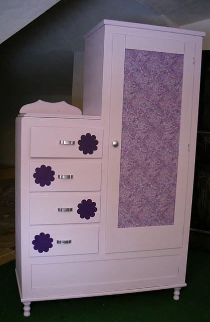 Remodelaholic Dressing Up An Old Dresser Cabinet