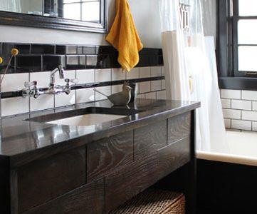Farmhouse Bathroom 180 Degree Renovation