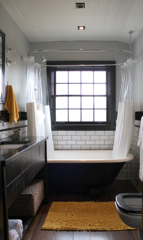 Remodelaholic Farmhouse Bathroom 180 Degree Renovation
