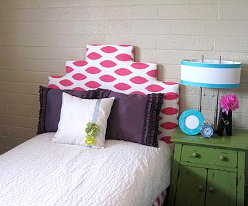 Simple Ikea Bed Turned Chic