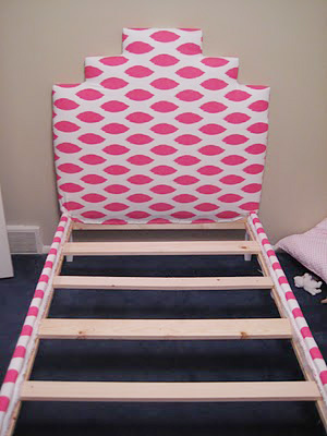 little girls upholstered bed 9