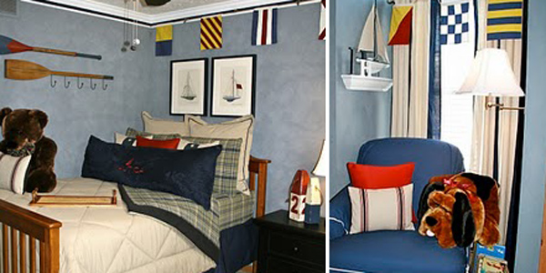Remodelaholic Nautical Themed Little Boys Bedroom