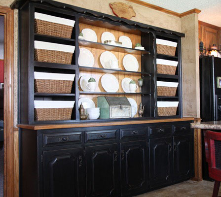 black-built-in-hutch-before-and-after-redo