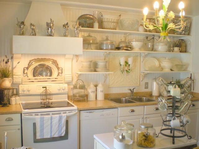 French Style Kitchen remodelaholic | french farm style kitchen renovation