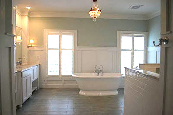 Remodelaholic master bathroom remodel to envy for Master bath renovation
