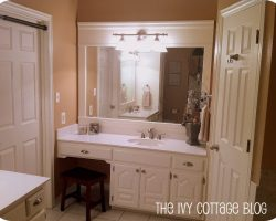 Beautiful neutral master bathroom remodel
