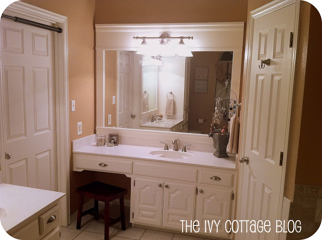 Remodelaholic Neutral Master Bathroom Remodel