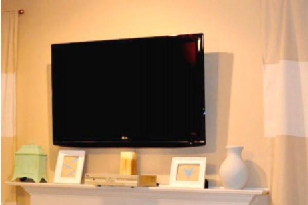 DIY TV Wall Mount — for Under $15!