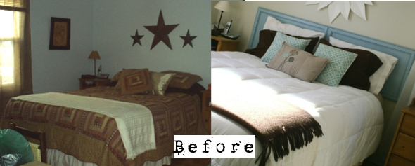3 before reclaimed wood headboard tutorial (1)