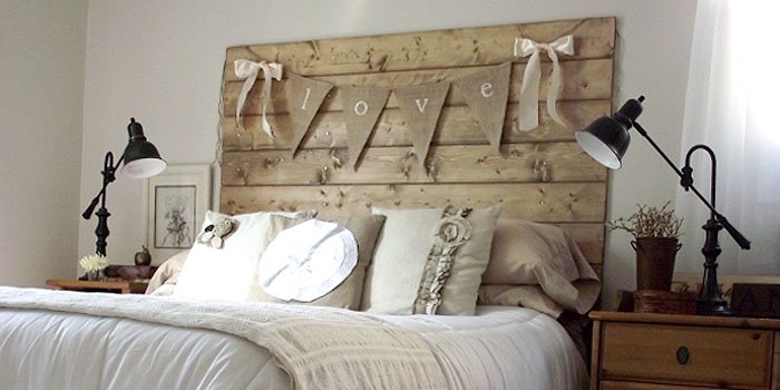 reclaimed wood headboard tutorial