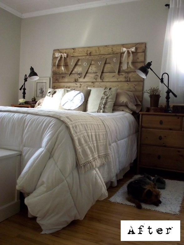 reclaimed wood headboard tutorial (2)