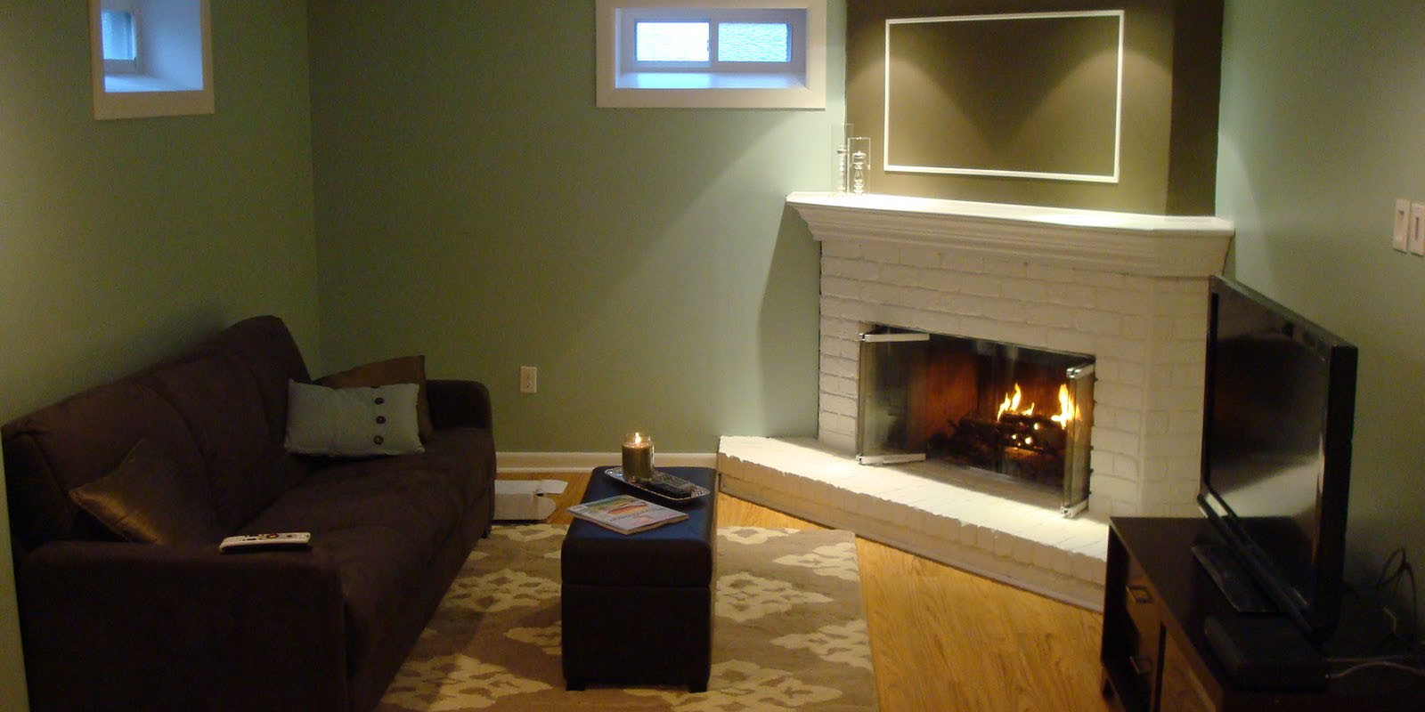 Basement Renovation: A Wet Before To A Fantastic After