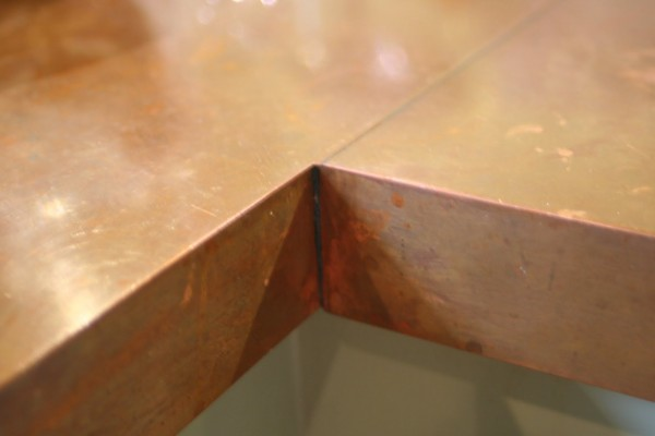 DIY copper countertops Tutorial