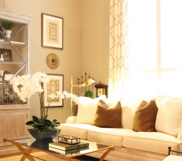 Designing A Living Room With Tall Walls