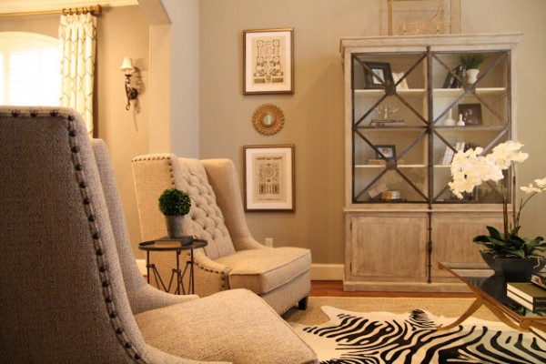 Remodelaholic Designing A Living Room With Tall Walls