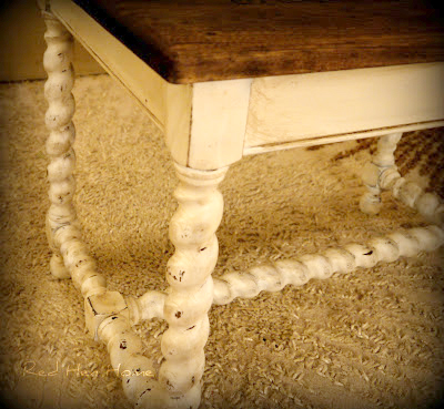 French Twist- Giving a Table a Vintage French Look! (14)