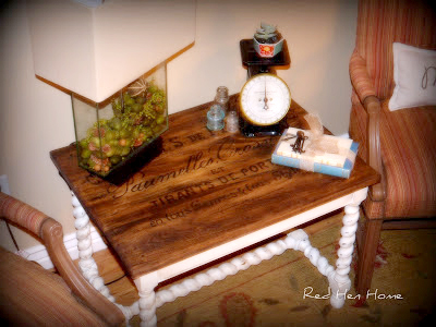 French Twist- Giving a Table a Vintage French Look! (15)