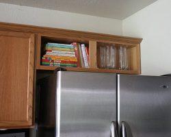 upper fridge cabinet