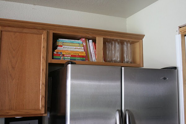 upper fridge cabinet