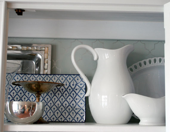DIY Redo Of Kitchen Hutch For Displaying Dishes, By @Remodelaholic